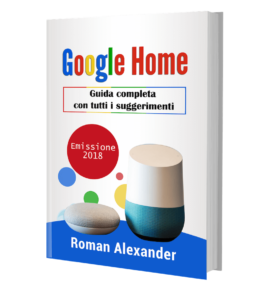 google home manuale italiano